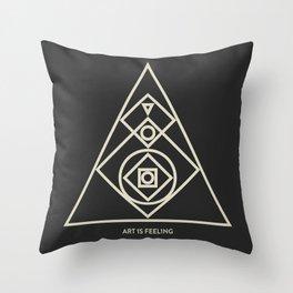 ReyStudios Monochromatic 7 Throw Pillow