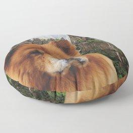 Dog Chow Chow Floor Pillow
