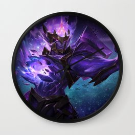 Dark Star Jarvan IV League Of legends Wall Clock