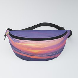 Broken sunset by #Bizzartino Fanny Pack