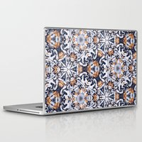 cigarettes Laptop & iPad Skins featuring cigarettes pattern by Sushibird