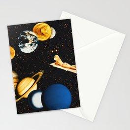 Planetary dream Stationery Cards