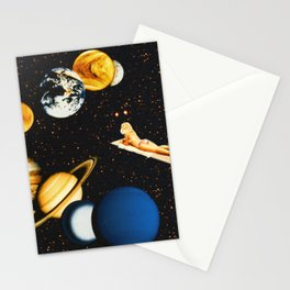 Planetary dream Stationery Cards