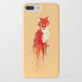 The fox, the forest spirit iPhone Case