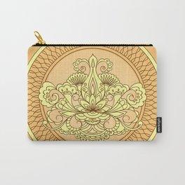 mehndi art orange Carry-All Pouch