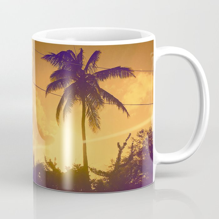 Sunset in the West Indies Coffee Mug