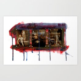 Boone: New and Old Art Print