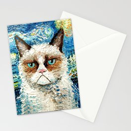 Grumpy Cat Is Still Grumpy Stationery Cards