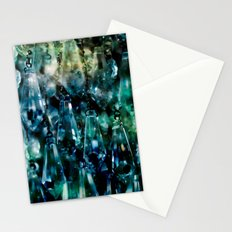 Space crystals Stationery Cards