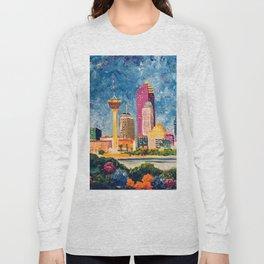 San Antonio Celebration Long Sleeve T-shirt