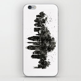 Cincinnati Skyline Black and White iPhone Skin
