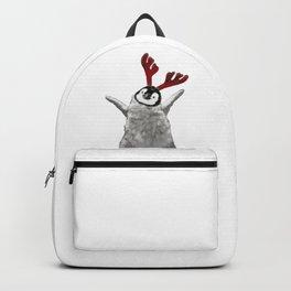 Christmas Baby Penguin Reindeer Backpack