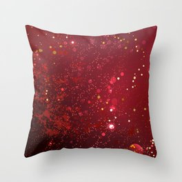 Background Color Marsala Throw Pillow
