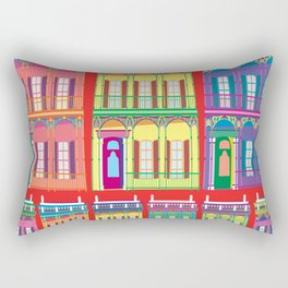 NEW ORLEANS HOUSES Rectangular Pillow