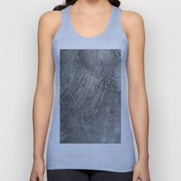 textured jute fabric for background and texture Unisex Tank Top