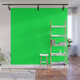 Erin Green Solid Color Wall Mural