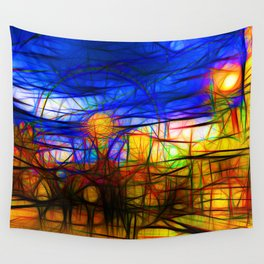 Fairground Wall Tapestry