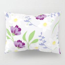 Spring floral pattern Pillow Sham