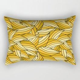 PRIMROSE YELLOW LEAVES B (abstract flowers nature) Rectangular Pillow