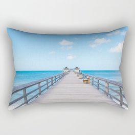On the Pier Rectangular Pillow