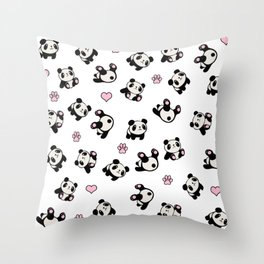 Panda pattern Throw Pillow