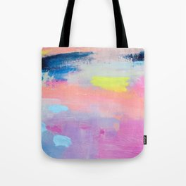 Dreamy Abstract pink Art  Tote Bag