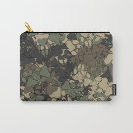 Wolf paw prints camouflage Carry-All Pouch