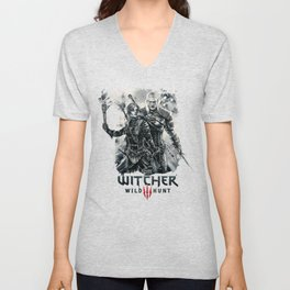 Geralt and Cirilla Unisex V-Neck