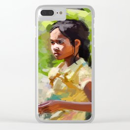 Bright Day Clear iPhone Case