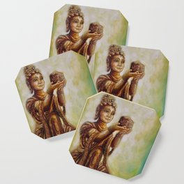 """The Offering of the Six Devas - Ointment"" Coaster"