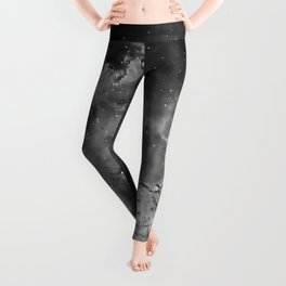 Stars and Space Dust B&W Leggings