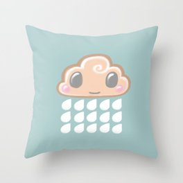 Baby Cloud Sprinkle Throw Pillow