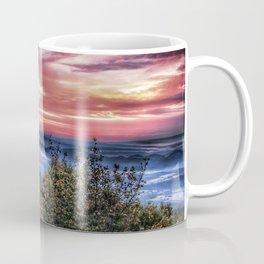 Stained Sunrise Coffee Mug