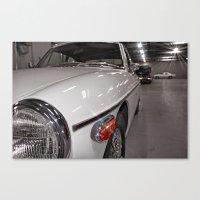 ashton irwin Canvas Prints featuring Ashton Martin by gr8gray