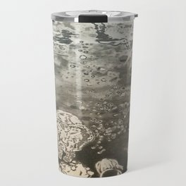 MoonSea EcoSystem Black and White Travel Mug