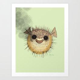 Puff Art Print