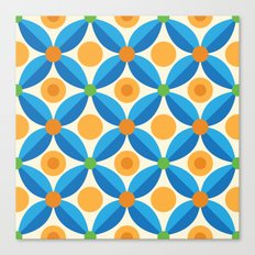 Citrus: Orange Grove Canvas Print