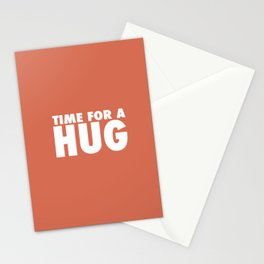 TIME FOR A HUG Stationery Cards
