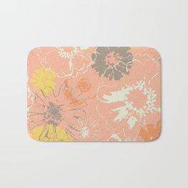Late Summer Peach Bath Mat