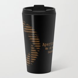 Aperture Science Travel Mug