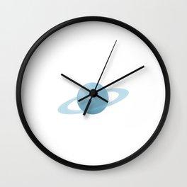 I Could Study Uranus All Night Long Astronomy T-Shirt Wall Clock
