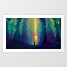 Bright Side Art Print