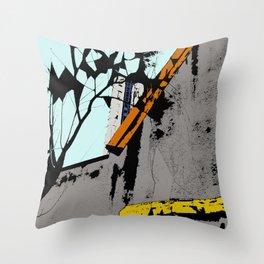 destroyed Throw Pillow