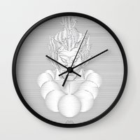 resident evil Wall Clocks featuring Evil Intent by WillFocus