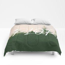 Explore (Pine) Comforters