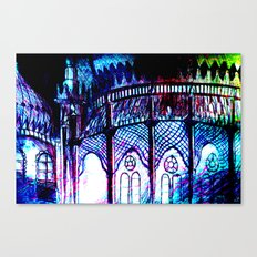 window box Brighton Pavilion Canvas Print