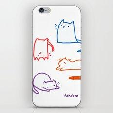 Cats cats cats cats iPhone & iPod Skin