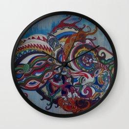 WHEEL OF TIME Wall Clock