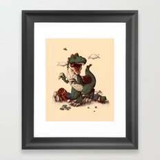 the true story Framed Art Print