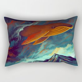 Whale, hello there Rectangular Pillow